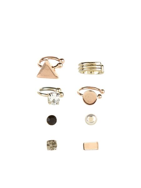 Accessorize Ear Cuff Adornment Pack