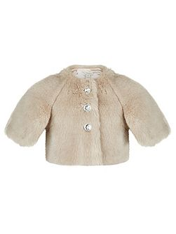 Girls Elvie Fur Cape