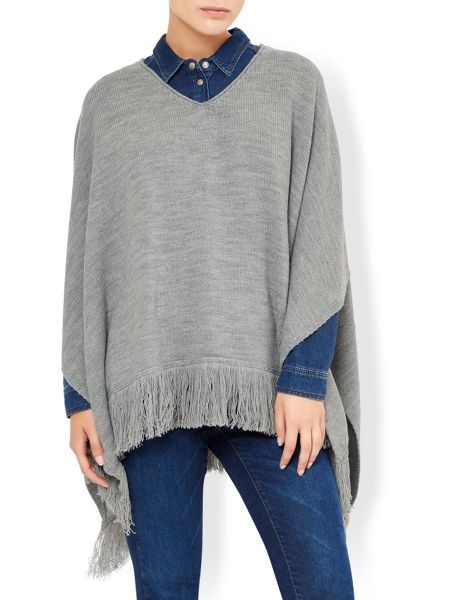 Accessorize Opp knitted poncho