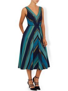 Monsoon Amaris Stripe Dress