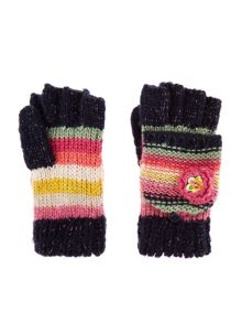 Monsoon Girls Rosette Flower Gloves