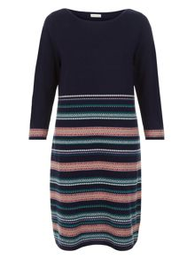 Monsoon Phoebe Fairisle Dress