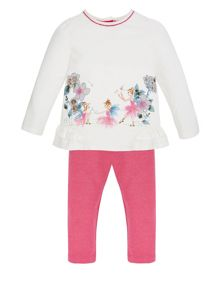 Monsoon Baby Girl Fairy Top and Sparkle Legging