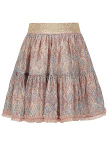 Monsoon Girls Amybelle Chiffon Skirt