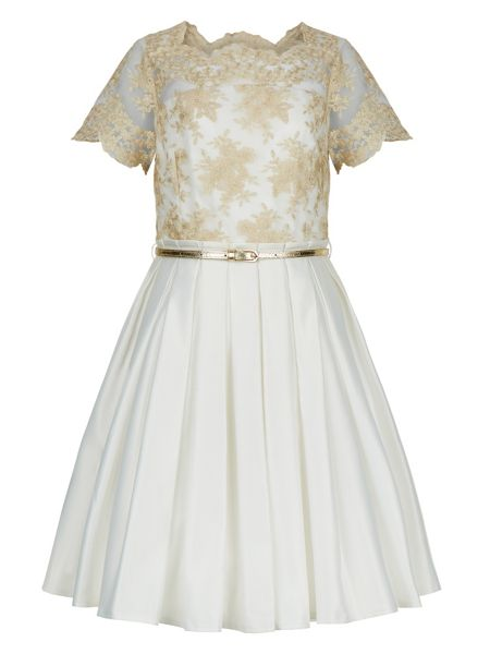 Monsoon Girls Julianna Duchess Dress