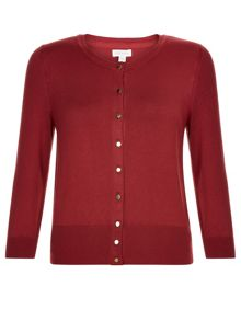 Monsoon Amberleigh Neat Button Through Cardigan