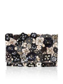 Accessorize Katie floral foldover clutch bag