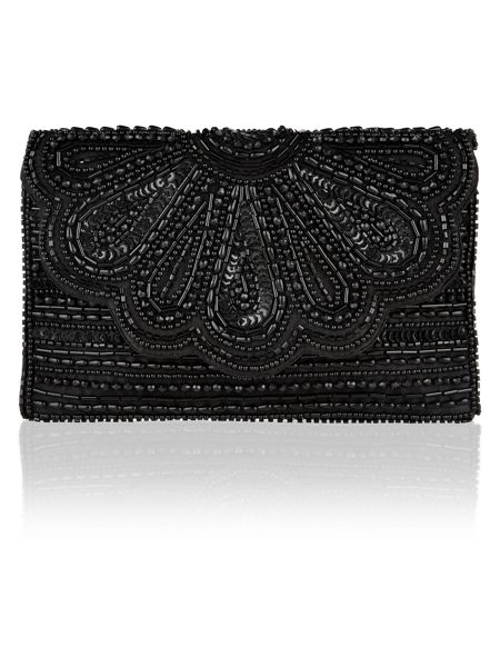 Accessorize Molly Scalloped Clutch Bag