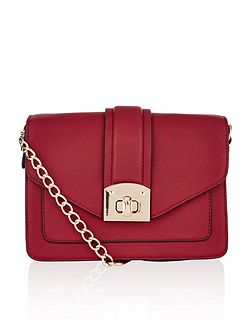 Dena chain large cross body bag