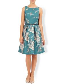 Monsoon Sapphira Jacquard Dress