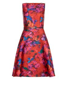 Monsoon Layla Print Dress