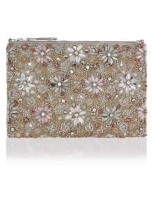 Accessorize Mila Embellished Ziptop Bag