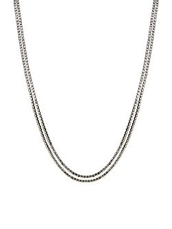 Cup Chain Long Slinky Rope Necklace