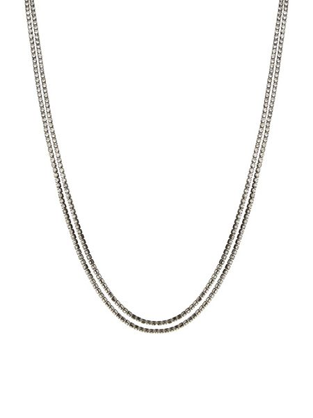 Accessorize Cup Chain Long Slinky Rope Necklace