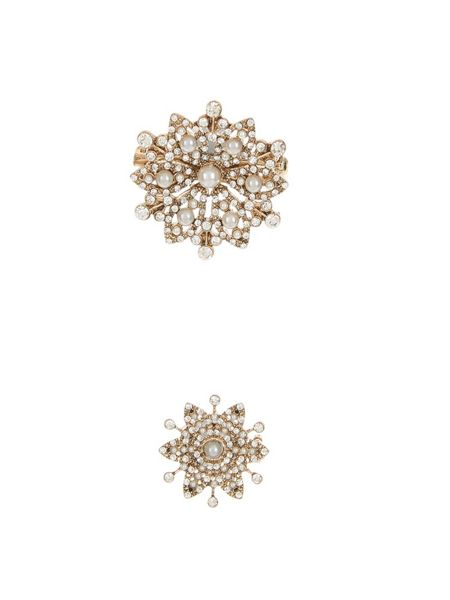 Accessorize Miriam Pearl Flower Brooch