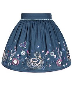 Girls Suki Swan Skirt