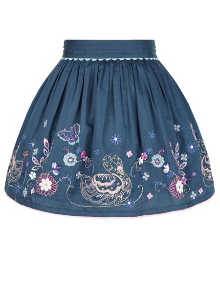 Monsoon Girls Suki Swan Skirt