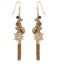 Accessorize Helena Charm Earrings