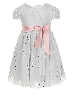 Baby Girls Glitter Moon Dress