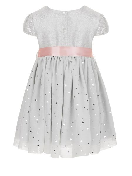 Monsoon Baby Girls Glitter Moon Dress