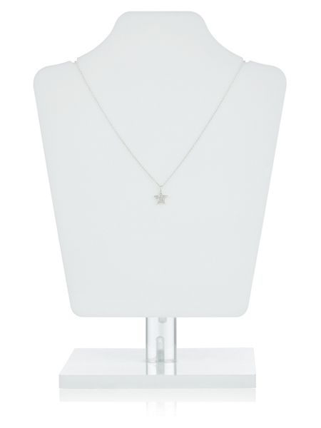 Accessorize Sterling Silver Star Pendant Necklace