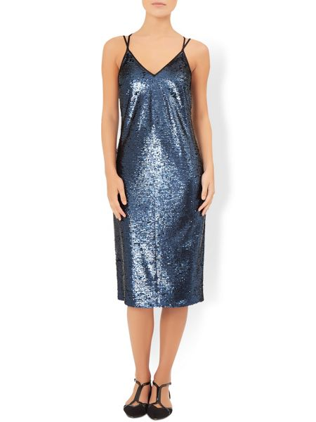 Monsoon Salina Sequin Dress