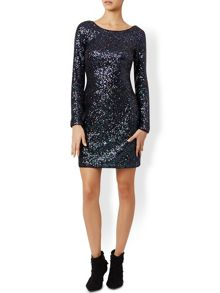 Monsoon Stacey Sequin Dress