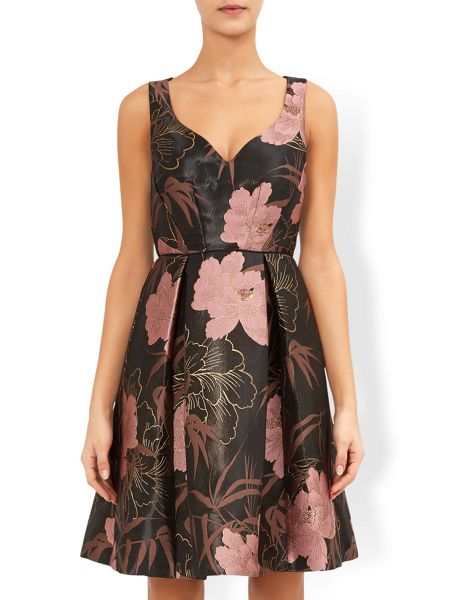 Monsoon Wren Jacquard Dress