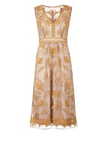 Monsoon Tawny Dress