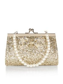 Monsoon Bedazzle Bow Mini Bag