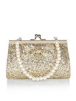 Bedazzle Bow Mini Bag