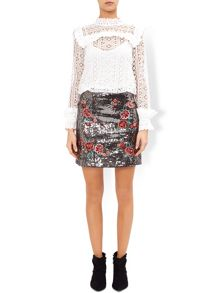 Monsoon Tabia Sequin Skirt