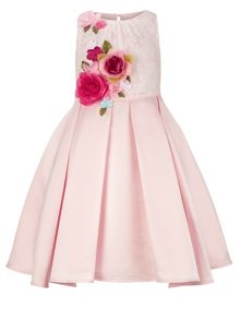 Monsoon Girls Rosella Flowers Dress