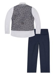 Monsoon Boys Rhys 4 Piece Suit Set