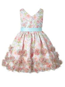 Monsoon Girls Sienna Flower Dress