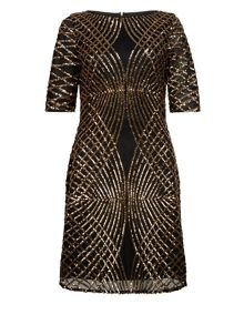 Monsoon Sasha Sequin Dress