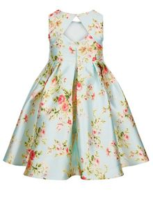 Monsoon Girls Halo Bloom Print Dress