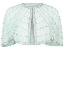 Monsoon Candice Embellished Cape