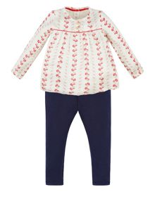 Monsoon Baby Girls Isla Blouse Set