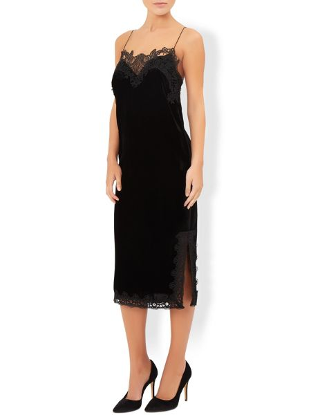 Monsoon Valencia Velvet Dress