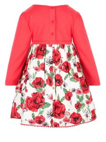 Monsoon Baby Girls Scarlet 2 In 1 Dress