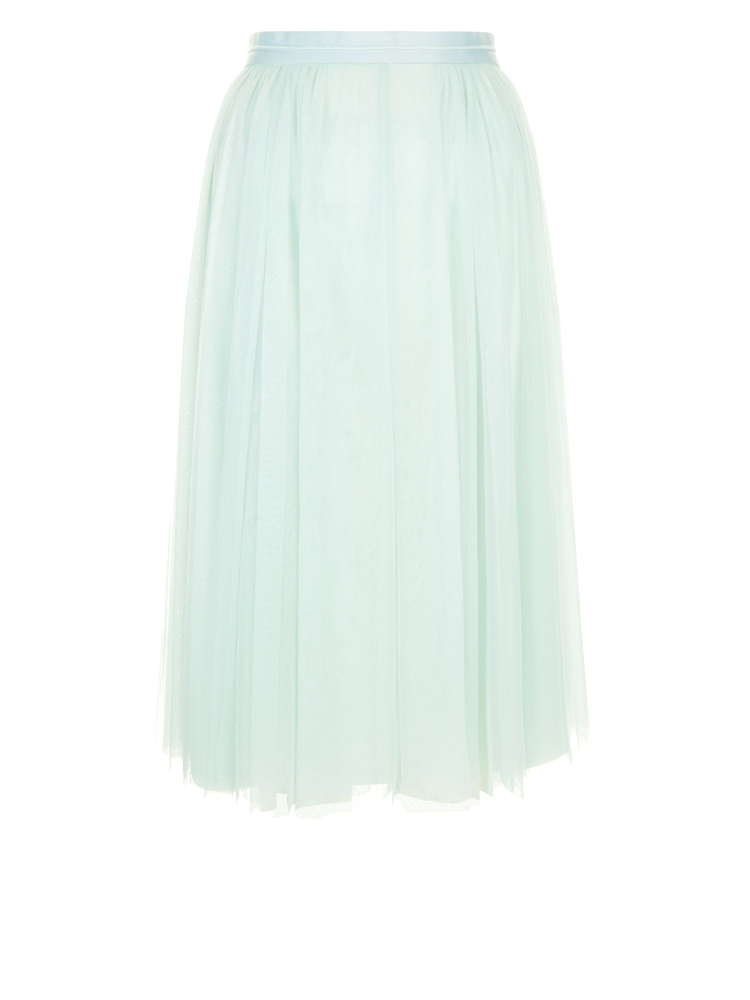 Monsoon Flora Tulle Skirt, Green