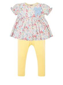 Monsoon Baby Girls Ellie Print Set