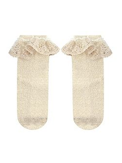 Girl Dainty Flower Lace Socks
