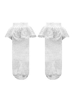 Baby Floral Lace Socks