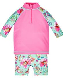 Monsoon Girls Baby Cosima Sunsafe Swimsuit