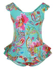 Monsoon Girls Baby Cosima Swimsuit