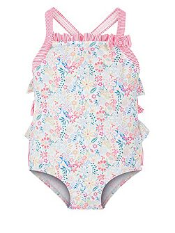 Girls Baby Lulu Ruffle Swimsuit