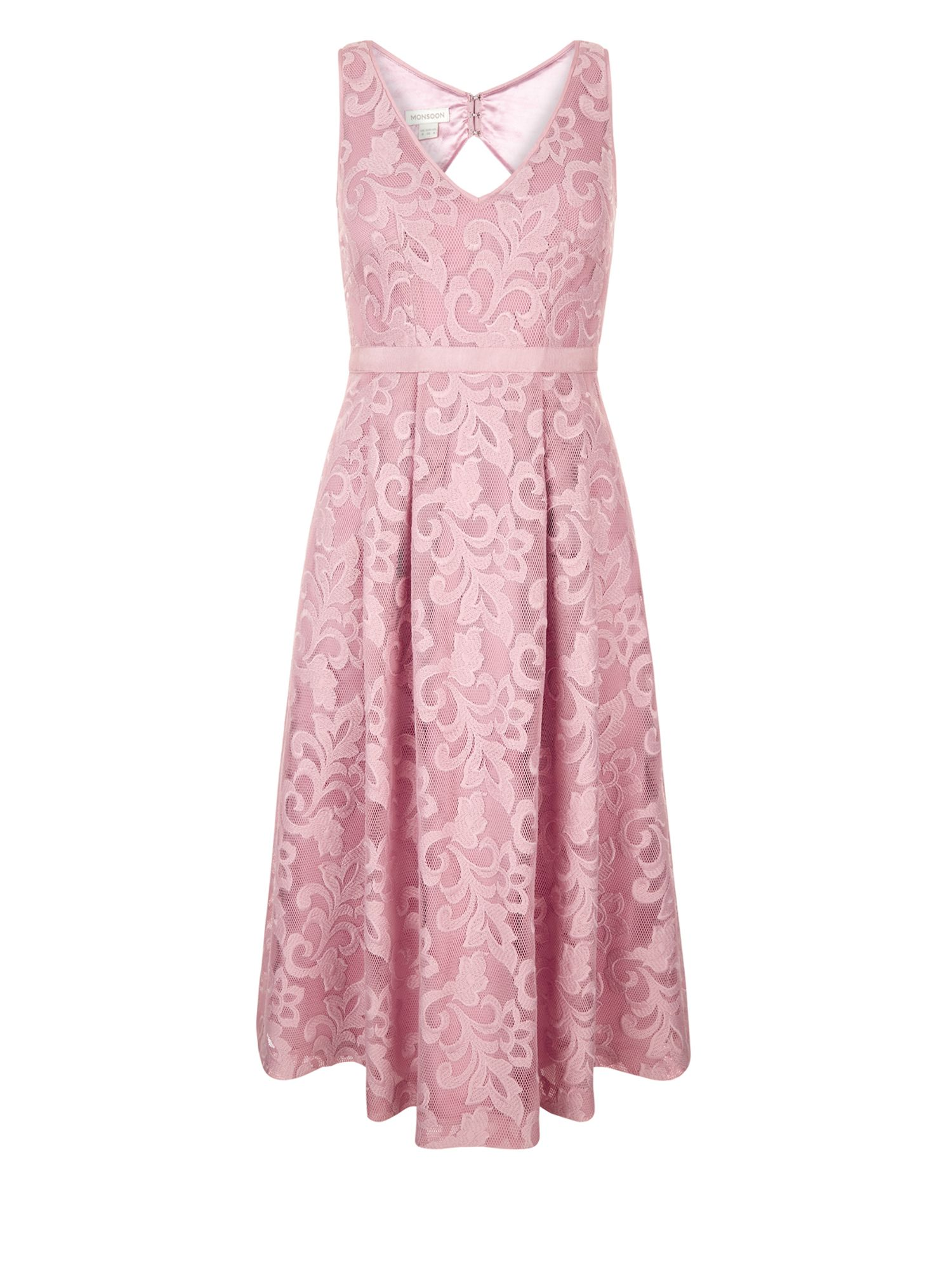 Monsoon Delphinium Dress, Pink
