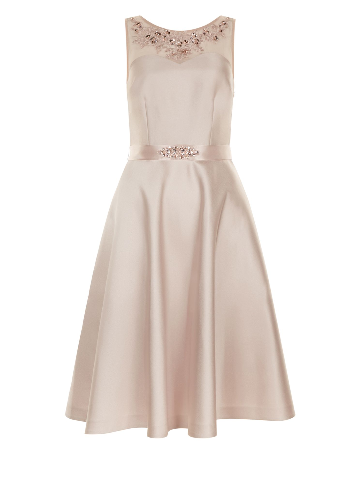 Monsoon Carnation Dress, Nude